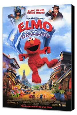 Elmo in Grouchland - 11 x 17 Movie Poster - Style A - Museum Wrapped Canvas