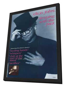Elton John - 27 x 40 Movie Poster - Style A - in Deluxe Wood Frame