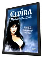 Elvira, Mistress of the Dark - 27 x 40 Movie Poster - Style B - in Deluxe Wood Frame