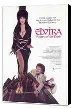 Elvira, Mistress of the Dark - 11 x 17 Movie Poster - Style A - Museum Wrapped Canvas