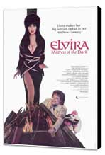 Elvira, Mistress of the Dark - 27 x 40 Movie Poster - Style A - Museum Wrapped Canvas