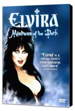 Elvira, Mistress of the Dark - 27 x 40 Movie Poster - Style B - Museum Wrapped Canvas