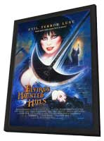Elvira's Haunted Hills - 27 x 40 Movie Poster - Style A - in Deluxe Wood Frame