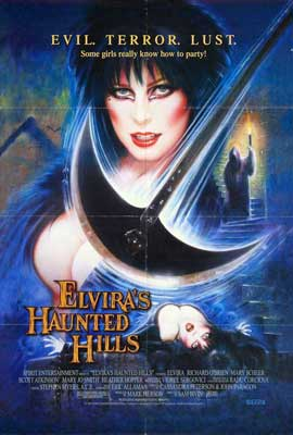 Elvira's Haunted Hills - 11 x 17 Movie Poster - Style A