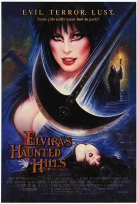 Elvira's Haunted Hills - Movie Poster - Reproduction - 11 x 17 Style A