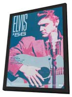 Elvis '56 - 11 x 17 Movie Poster - Style A - in Deluxe Wood Frame