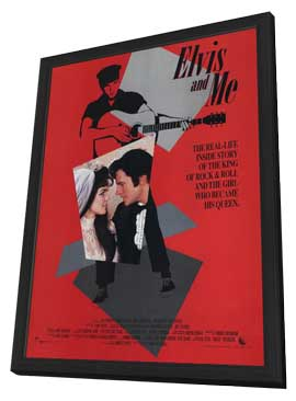 Elvis and Me - 11 x 17 Movie Poster - Style A - in Deluxe Wood Frame