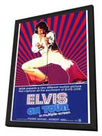 Elvis On Tour - 11 x 17 Movie Poster - Style A - in Deluxe Wood Frame