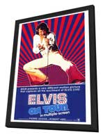 Elvis On Tour - 27 x 40 Movie Poster - Style A - in Deluxe Wood Frame
