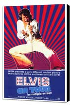 Elvis On Tour - 11 x 17 Movie Poster - Style A - Museum Wrapped Canvas