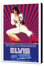 Elvis On Tour - 27 x 40 Movie Poster - Style A - Museum Wrapped Canvas
