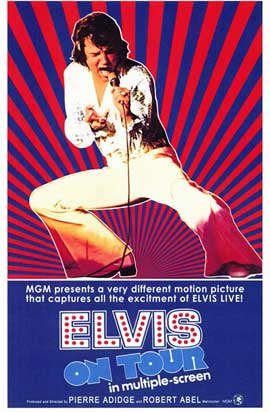 Elvis On Tour - 11 x 17 Movie Poster - Style A