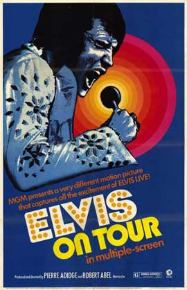 Elvis On Tour - 11 x 17 Movie Poster - Style B