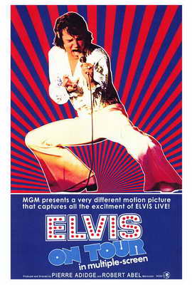 Elvis On Tour - 27 x 40 Movie Poster - Style A