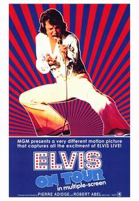 Elvis On Tour - 43 x 62 Movie Poster - Bus Shelter Style A