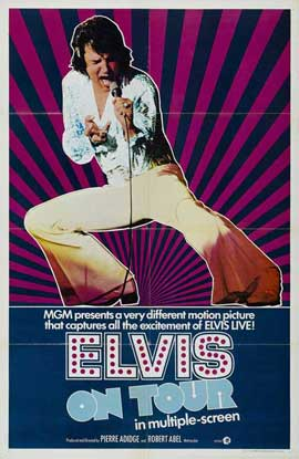 Elvis On Tour - 27 x 40 Movie Poster - Style B