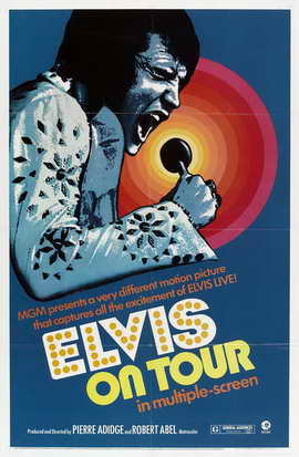 Elvis On Tour - 27 x 40 Movie Poster - Style C
