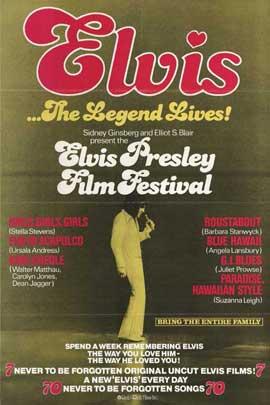 Elvis Presley Film Festival - 11 x 17 Movie Poster - Style A