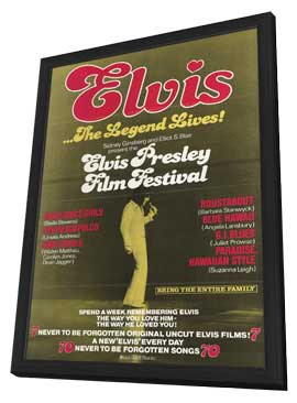 Elvis Presley Film Festival - 11 x 17 Movie Poster - Style A - in Deluxe Wood Frame