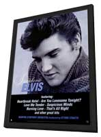 Elvis Presley - 11 x 17 Music Poster - Style C - in Deluxe Wood Frame