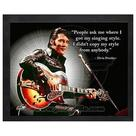 Elvis Presley - ProQuote Singing Style Framed Photo
