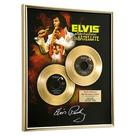 Elvis Presley - Aloha From Hawaii Framed Gold Record