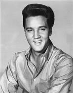 Elvis Presley - Elvis Presley Portrait in Glossy Polo