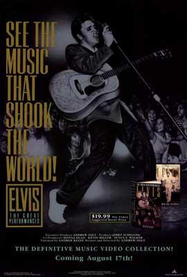Elvis Presley - 27 x 40 Movie Poster - Style A
