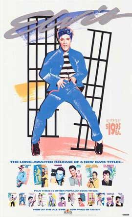 Elvis Presley - 27 x 40 Movie Poster - Style B