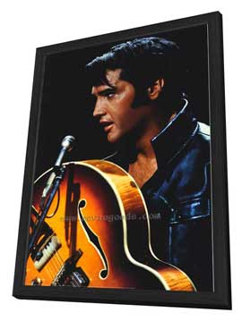 Elvis Presley - 11 x 17 Movie Poster - Style C - in Deluxe Wood Frame