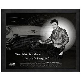 Elvis Presley - ProQuote Ambition Framed Photo