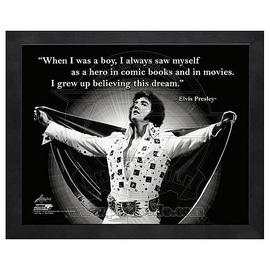 Elvis Presley - ProQuote Hero Framed Photo
