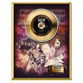 Elvis Presley - Viva Las Vegas 45 rpm Gold Record