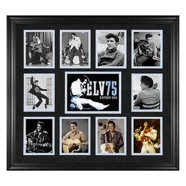 Elvis Presley - 75th Birthday Framed Photo