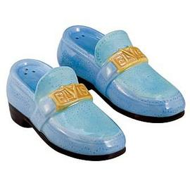 Elvis Presley - Blue Suede Shoes Salt and Pepper Shaker Set