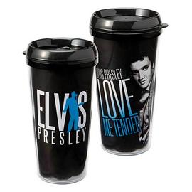 Elvis Presley - Love Me Tender Plastic Travel Mug