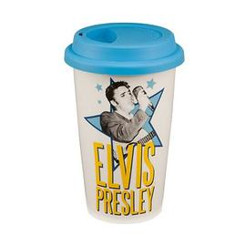 Elvis Presley - Double Wall Travel Mug