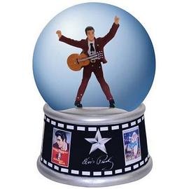 Elvis Presley - Movie Posters Water Globe