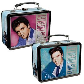 Elvis Presley - The King of Rock N Roll Large Tin Tote