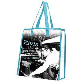 Elvis Presley - Left The Building Reusable Shopping Tote