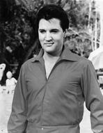 Elvis Presley - Elvis Presley Portrait in Long Sleeve Polo
