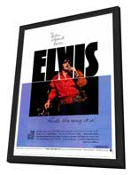 Elvis: That's the Way It Is - 11 x 17 Movie Poster - Style A - in Deluxe Wood Frame