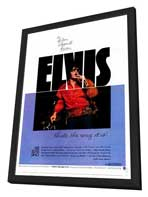 Elvis: That's the Way It Is - 27 x 40 Movie Poster - Style A - in Deluxe Wood Frame