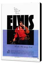 Elvis: That's the Way It Is - 11 x 17 Movie Poster - Style A - Museum Wrapped Canvas
