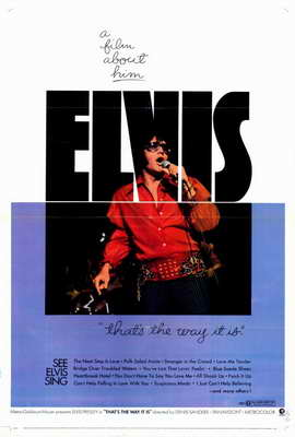 Elvis: That's the Way It Is - 11 x 17 Movie Poster - Style A