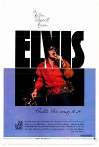 Elvis: That's the Way It Is - 27 x 40 Movie Poster - Style A