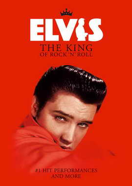 Elvis: The King of Rock 'n' Roll - 27 x 40 Movie Poster - UK Style A