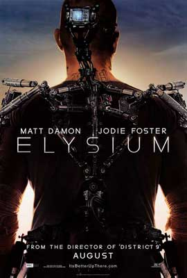 Elysium - 11 x 17 Movie Poster - Style A