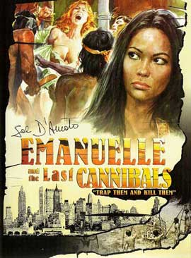 Emanuelle and the Last Cannibals - 11 x 17 Movie Poster - Style A