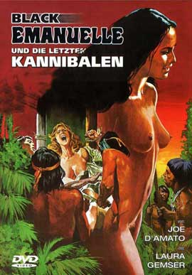 Emanuelle and the Last Cannibals - 11 x 17 Movie Poster - German Style A